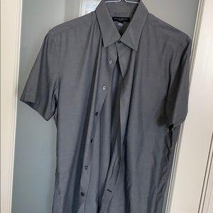 Banana Republic Slim Fit Short Sleeve Shirt